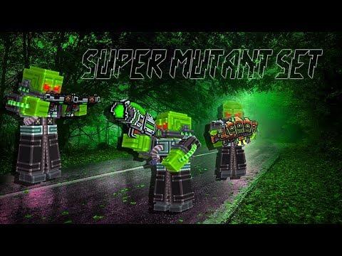 Super Mutant Set - Pixel Gun 3D