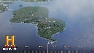 The Curse of Oak Island: 3D Map and Timeline (Season 4) | History