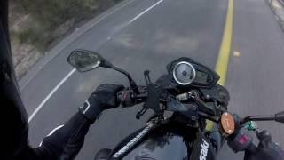 פעם ראשונה על אופנוע 4 צילינדרים וסיכום