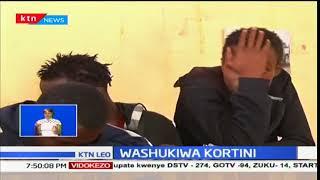 Washukiwa Kortini: Washukiwa wa genge sugu wafikishwa mahakamani