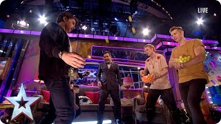 The Vamps get thrusting on BGMT! | Semi-Final 4 | Britain's Got More Talent 2017