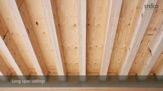 Production of Laminated Veneer Lumber STEICO LVL
