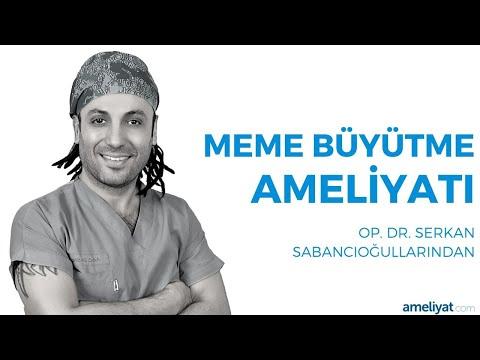 Meme (Göğüs) Büyütme Ameliyatı (Op. Dr. Serkan Sabancıoğullarından)