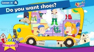 Bài 21_ (A) Bạn có muốn đôi giày? - Cartoon Câu chuyện
