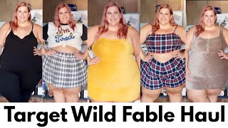 Target Wild Fable Haul: Affordable Plus Size Clothing