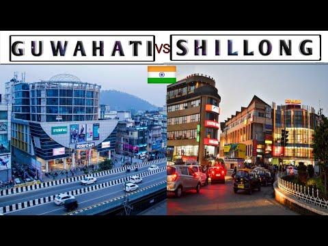 GUWAHATI vs SHILLONG - Views & Facts || Guwahati || Shillong || Assam || Meghalaya || Plenty Facts