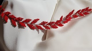 Boncuktan Gelin Tacı Yapımı- DIY Bridal Hair Vine