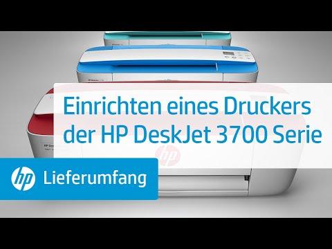 Einrichten eines Druckers der HP DeskJet 3700 Serie