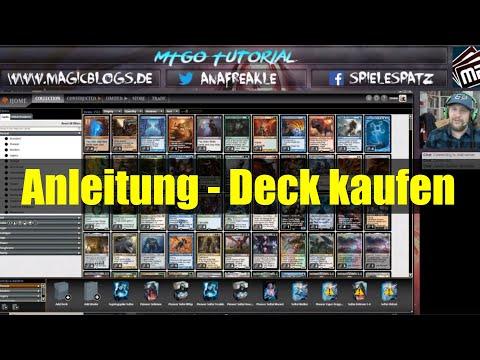 Magic Online | Tutorial 1 | Deckbau / Deckkauf