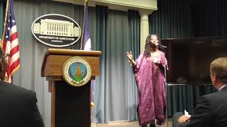Queen Quet Testifies About Heirs Property at the USDA