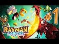 Rayman Legends Parte 1: Teensies Encrencados Nintendo S