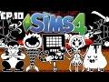 HOTLAND - The Sims 4: Undertale Theme - Ep. 10 (Create A Sim & Apartment S.d Build)