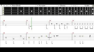 Nijiiro Miracle - 765PRO ALLSTARS Bass TAB