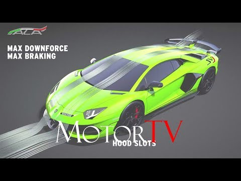 TECHNOLOGY : 2019 LAMBORGHINI AVENTADOR SVJ  ALA 2.0 Aerodynamic System