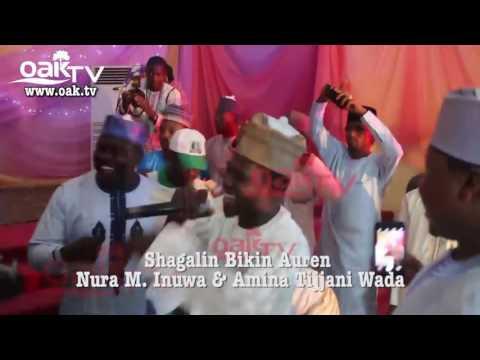 Adam Zango yana Cashewa a Bikin Nura M   Inuwa