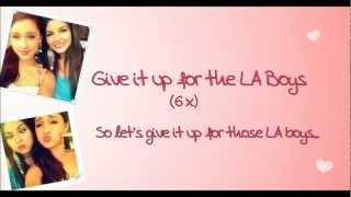 Виктория Джастис, Victoria Justice feat Ariana Grande - LA Boys *Lyrics* HD