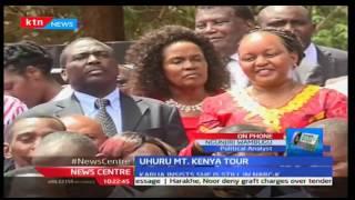 News Center: Uhuru Kenyatta's Mount Kenya Tour with Karua insisting she is still in Narc - K 30/11/2
