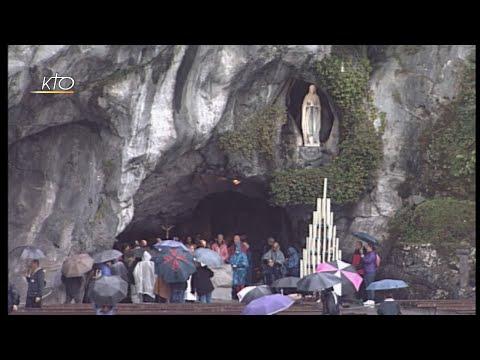 Chapelet à Lourdes du 22 octobre 2019