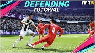 FIFA 19 DEFENDING TUTORIAL / How To Defend Effectively - BEST Way To TACKLE, CONTAIN & JOCKEY