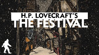 HP Lovecraft Story | THE FESTIVAL | Holiday Horror | Soft Spoken Audiobook