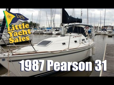 1987 Pearson 31 sailboat for sale at Little Yacht Sales, Kemah Texas