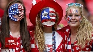 Why is US in love with football? Sorry, soccer - BBC News