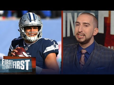 How much credit does Dak deserve for the Cowboys beating the 2-11 Giants? | FIRST THINGS FIRST