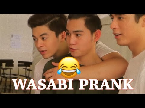 WASABI PRANK ON CK, YONG, & JC