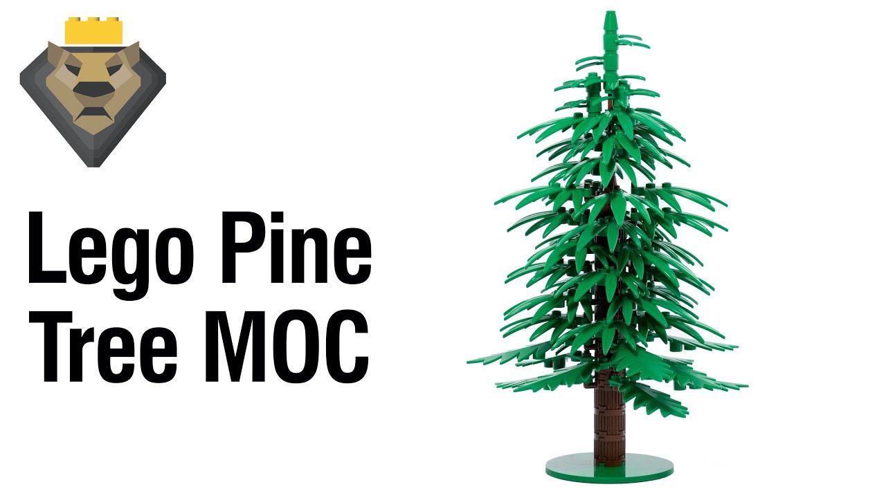 LEGO Pine Tree MOC & Tutorial