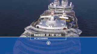 Harmony of the Seas: In Zahlen