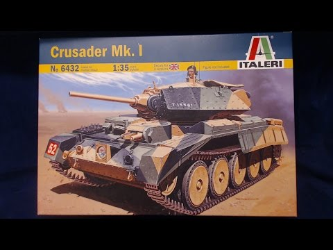 EDUARD 35661 Fenders for Italeri® Kit Crusader Mk.I in 1:35