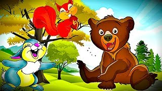 УЧИМ ЖИВОТНЫХ ДЛЯ ДЕТЕЙ. Учим слова. Мультфильмы для детей. Животные