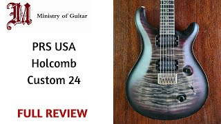 PRS USA Core Mark Holcomb Custom 24. Unboxing and Review