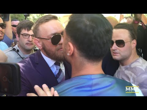 Conor McGregor, Paulie Malignaggi Have Heated Confrontation – MMA Fighting