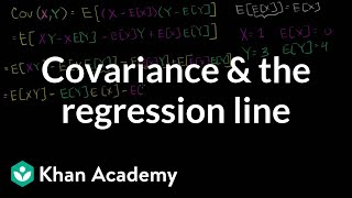 Covariance and the Regression Line