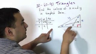 9.2 Special Right Triangles