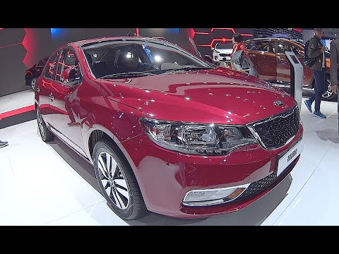 New sedan Kia Forte R 2016, 2017  interior, exterior video