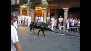 preview picture of video 'Teruel Toros ensogados tarde del Lunes Teruel La Vaquilla del Ángel 2013'