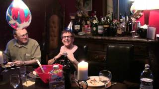 Crazy Grandma Funny Reaction To Party Hat Elastic Snap