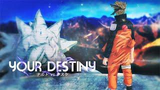 Naruto vs Sasuke [ASMV] Your Destiny - SubEng