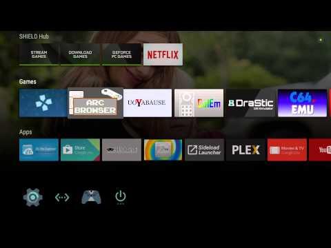 Nvidia Shield TV Emulator BOX , Launch Box , Arc Browser - смотреть