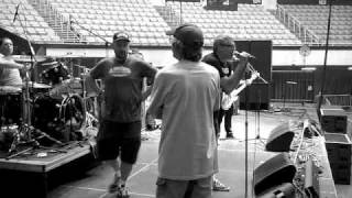 """The Descendents """"Silly Girl"""" 4/7/2011 Long Beach Arena sound check"""