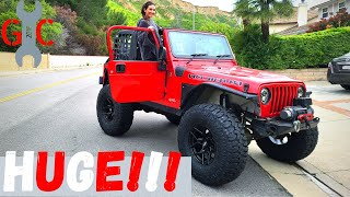 We Finally Lift Our Wrangler 4+ Inches On 38s! Full Step-by-Step Guide