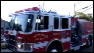 preview picture of video 'South Bend, IN House Fire 8-6-12'