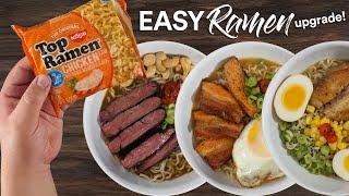 Instant Ramen HACKS Upgrade using sous vide recipes!