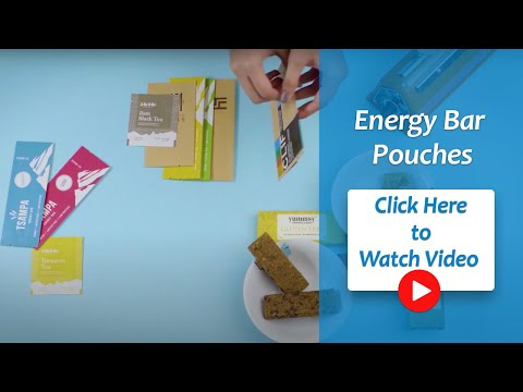 Crystal Clear Energy Bar / Chocolate Bar Packaging