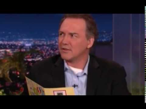 Norm Macdonald shows up for Conan O'Brien's last night hosting the Tonight Show