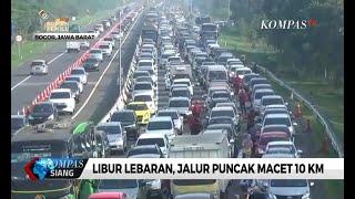 Libur Lebaran, Jalur Puncak Macet Sepanjang 10 Km