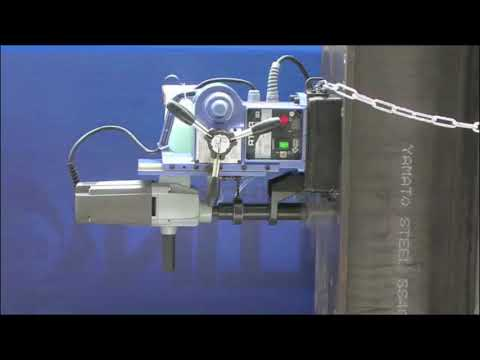 Portable Magnetic Drilling Machine-Auto