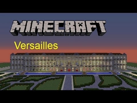 Versailles palace minecraft project - Chateau de minecraft ...